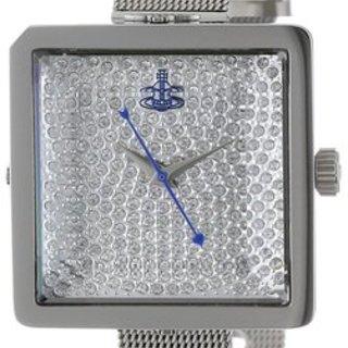 Vivienne Westwood Lady Cube Silver Watch