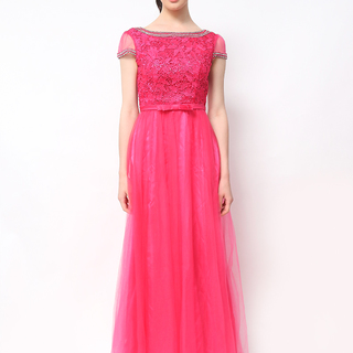 Host Gown Hot Pink