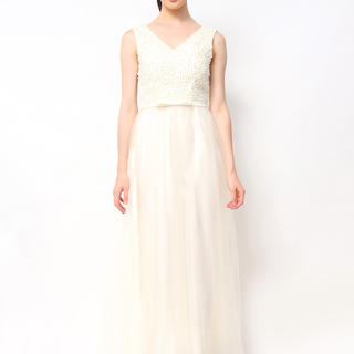 Host Gown Pearl Top