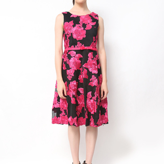 Host Fuschia Floral Dress