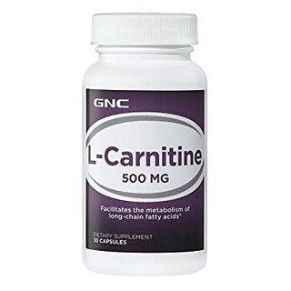 GNC L-Carnitine 500 MG 30 Capsules (37627)