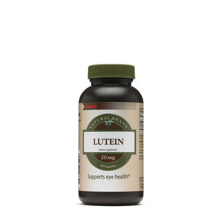 GNC Natural Brand Lutein 20 MG - 60 Capsules (704801)