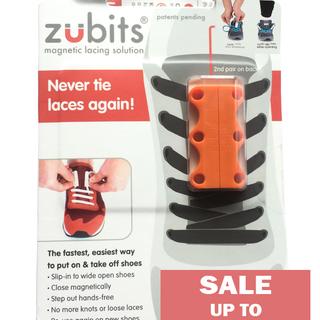 Zubits Magnetic Shoe Closure - Orange - Size 2 (oZB2ORG)
