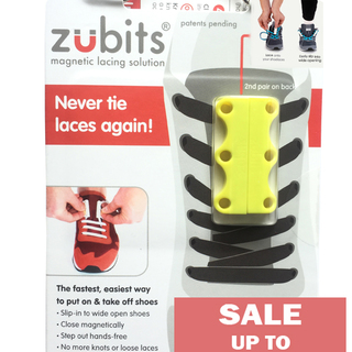 Zubits Magnetic Shoe Closure - Yellow - Size 3 (oZB3YEL)
