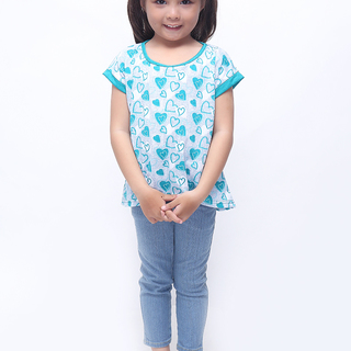 BASICS FOR KIDS GIRLS BLOUSE - GREEN (G307537-G307557)