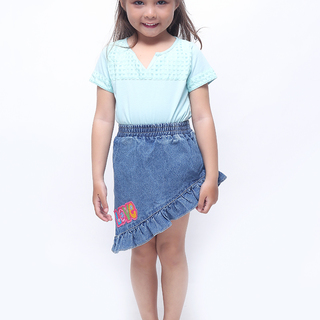 BASICS FOR KIDS SKIRT - BLUE (G704805-G704825)
