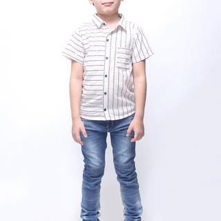 BASICS FOR KIDS BOYS POLO - WHITE (B309900-B309920)