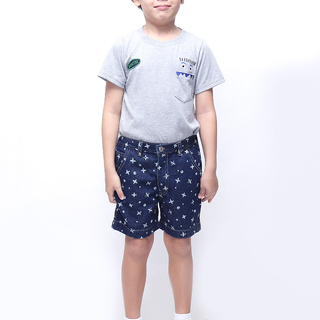 BASICS FOR KIDS BOYS SHORTS - BLUE (B502515-B502535)