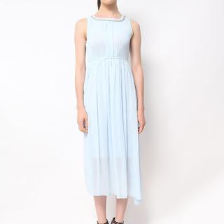Host Blue Light Blue Princess Dress With Swarovski Pendant (Freesize)