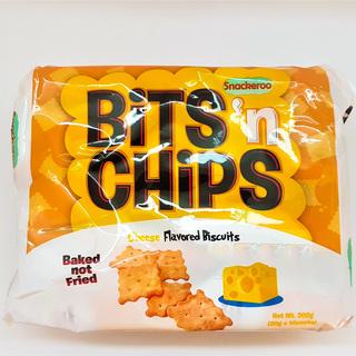 Snackeroo Bits n Chips Cheese Flavor