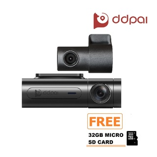 DDPai X2 PRO Dashboard Camera (Black) with FREE 32GB Micro SD Card (DDPaiX2PRO+32GBMSD)