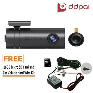 DDPai MINI2 Dashboard Camera (Deep Grey) with FREE 16GB Micro SD Card    (DDPaiMINI2+16GBMCROSDCRD)
