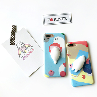 Rosu 3D Squishy Animal Case for iPhone