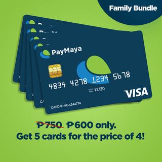 PayMaya Family Bundle