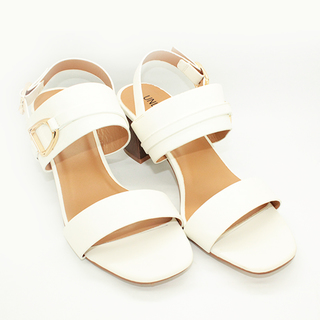 Norah One Strap Sandals on Chunky Heel