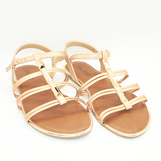 Isabelle T strap flat sandals