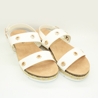 Kira Double strapped espadrille sandals