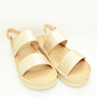 Anya Double strapped espadrille sandals