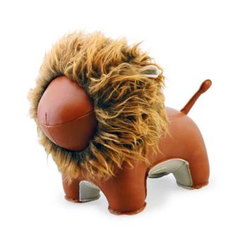 Zuny Series Lion Lino Bookend (TAN)