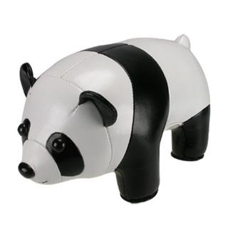Zuny Classic Panda Bookend (Black + White)