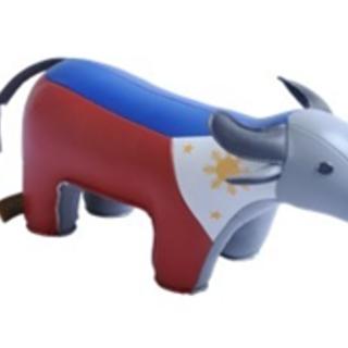 Zuny Carabao Paperweight (Philippine Flag)