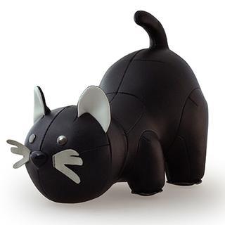 Zuny Classic Cat Black Bookend (Black)