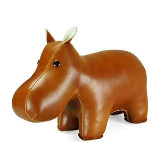 Zuny Hippo Paperweight (Tan)