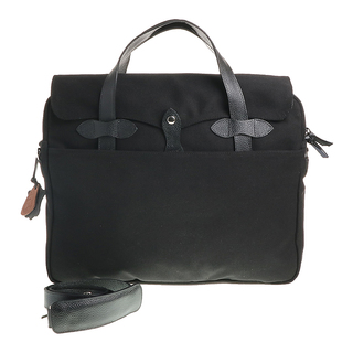 Our Tribe 858 Unisex Leather & Canvas Work Bag