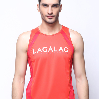 Lagalag MTN Runner Singlet - Orange