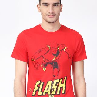 DC  Red Comics Round Neck Shirt (AKE161280821)