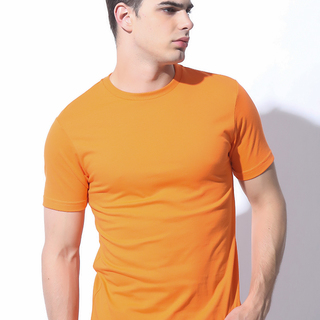 MENS TOPS ORANGE (M7BETT65O)