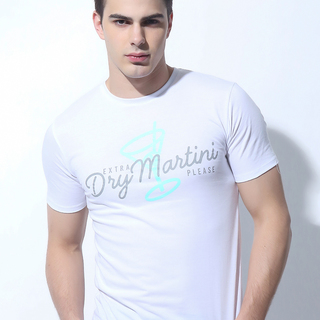 FOLDED AND HUNG MENS TOPS WHITE (M7SETT54W)