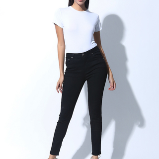 FOLDED AND HUNG HIGHWAIST SKINNY JEANS (L7BCBJ03B)