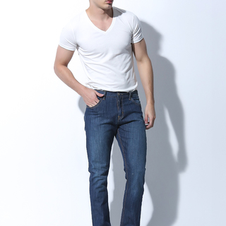 FOLDED AND HUNG MENS BOTTOMS BLUE RINSE (M6PEBJ01L)