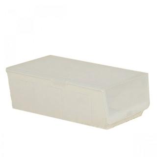 Hard Plastic Shoe Box - White