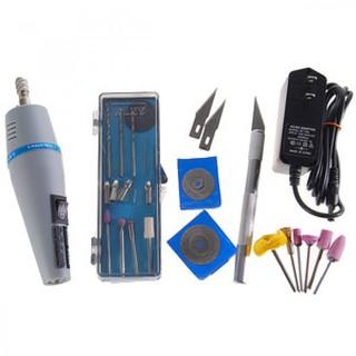 Mini Drill Grinder Kit With Cutting Sharpening Polishing Tools