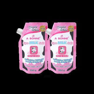 A014 x 2's  -  Abonne Triple White Spa Milk Salt