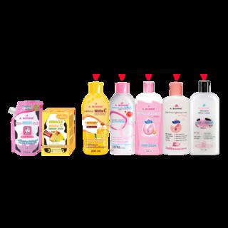 Abonne - A014 Spa Milk Salt x A022 Creamy White C Soap x Lotion ( of your choice )
