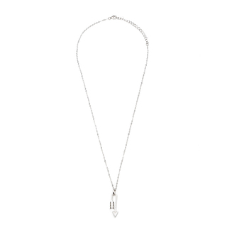 Silverworks N3805 Bend Arrow Design Necklace