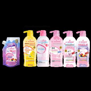 Abonne -  A097 Yogurt Spa Salt w/ Cap x Big Lotion ( of your choice )