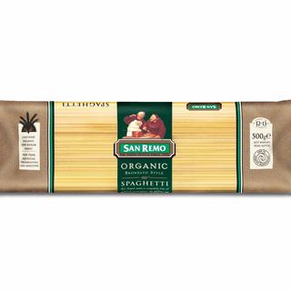 San Remo Organic Spaghetti 500g