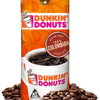 Dunkin Donuts Colombian Ground Coffee 12oz