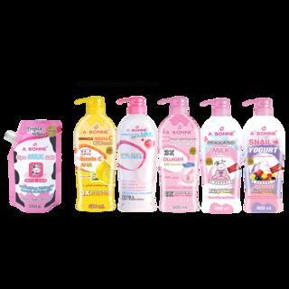 Abonne -  A014 Spa Milk Salt w/ Cap x Big Lotion ( of your choice )