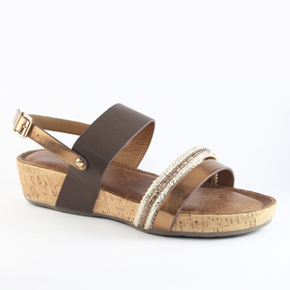 Mendrez Marcia Wedge Sandals