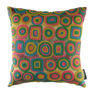 "ARQ LIVING DAIRA CUSHION COVER (16X16"")"