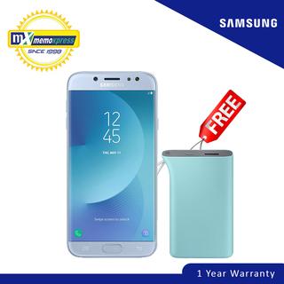 Samsung Galaxy J7 Pro (Blue Siver) Free Samsung Kettle Battery Pack 5100 mAh