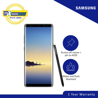 Samsung Galaxy Note8 64GB (Midnight Black)