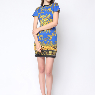 Daria Blue Kimberly Dress