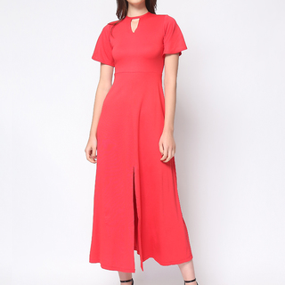 Daria  Red  Jasmine Maxi Dress