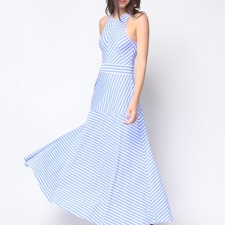 Daria Blue Selena Maxi Dress